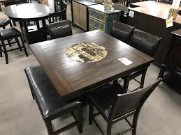 dining table with stools and bench