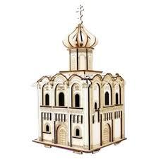 «Сборная <b>деревянная модель</b> Чудо-дерево Храм Покрова на ...
