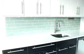 Tile Backsplash Ideas For White Cabinets Beauteous White Glass Backsplash Tile Glass White Glass Subway Tile Backsplash