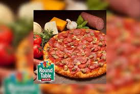 20 round table pizza