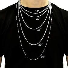 Chain Length Chart Inches Necklace Size Chart Eves Addiction