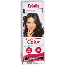 hair color cosamo non permanent um brown 1 ct