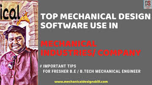 Best Design Software For Mechanical Engineer Top Mechanical Design Software Used In Mechanical Industries Hindi