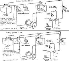 12v wiring diagram for 8n tractor one wire alternator volt 8n tractor wiring diagram 12 volt 12v ford conversion beautiful best images on