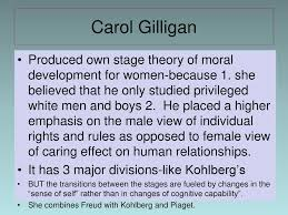 Carol Gilligan Moral Development Theory Chart Adolescence Module Ppt Download
