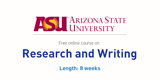 research and writing online course by arizona state  in this online course you will be introduces to discourse research and research writing for the purpose of proposing solutions to problems