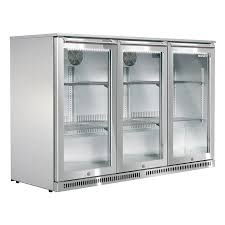 husky refrigeration triple door