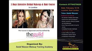 5 days intensive bridal makeup and hair course in london february 12 16 by sadaf wan