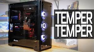building a pc in the corsair x tempered glass case