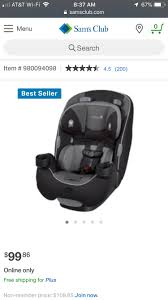 we have the safety 1st ever fit and our little gal loves it super comfy two cup holders easy to install clips to hold the straps while not using plus