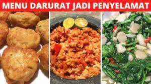 Atau anda bisa berkreasi menggunakan bahan yang ada. 3 Menu Ide Masakan Sehari Hari Part 53 Resep Masakan Indonesia Sehari Hari Sederhana Dan Praktis Youtube