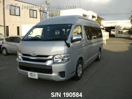 TOYOTA HIACE, 2015, S/N 190584 Used for sale   TRUST Japan