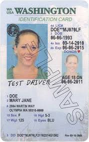 dol Card Official State Licensing Id Wa Designs Site