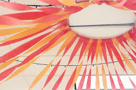 diy streamer canopy tutorial confirmation party details at home imposing ideas ceiling streamers