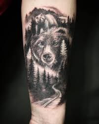 эскиз татуировки медведь 10 тыс изображений найдено в яндекс