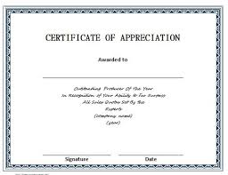 certificate of recognition templates 30 free certificate of appreciation templates and letters