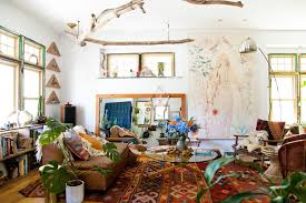 Bohemian Home Decor Bohemian Home Decor In Living Room Eclectic With Floor  Lamps Area Rugs Property