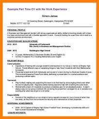 6 Part Time Job Resumes By Nina Designs
