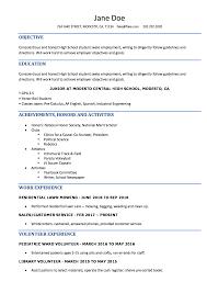 High School Student Resume Sample Writing Tips Resume Genius Job