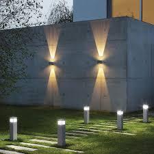 garden bollard lighting. Solar Bollard Lights Garden Lighting