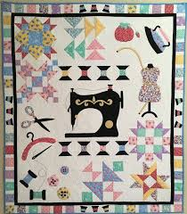 809 best QUILTS SEWING THEME images on Pinterest | Patterns, Deko ... & Spooling Around the Block - Our Newest Block of the Month Quilt Pattern  $26.00 Adamdwight.com
