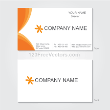 Business Card Page Template