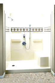home depot shower stalls 48 canada stall glass doors one piece bathrooms excellent han home depot shower stalls