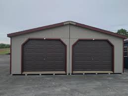 24x32 double wide garage clay barn