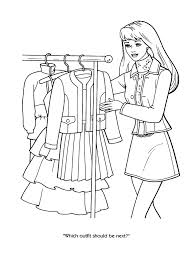 Small Picture Fashion Girl Coloring Book Coloring Pages