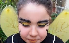 ble bee costume makeup
