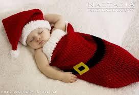 Santa Hat Pattern Best Free Pattern Santa Baby Cocoon Crochet