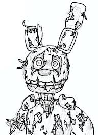 Fnaf For Kids Coloring Pages Printable Coloring Page For Kids