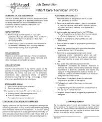 ... Resume 3 Exciting Patient Care Technician Job Description Http  Resumesdesign Com ...