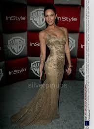 Orig 2009 Megan Fox Hollywood Beauty With Marilyn Monroe Tattoo Ultra Glamorous