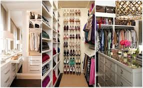 Nice And Small Walk In Closet Organization Ideas