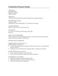 Chemistry Job Resume Sample Template For High School Student Resume