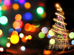 Light Tree Ppt Bokeh Tree Lights Backgrounds For Powerpoint Holiday Ppt