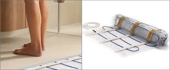 heated tile floors in bathrooms. aqua-mat underfloor heating heated tile floors in bathrooms