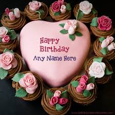 Chocolate Biscuit Birthday Cake Online Editor For Girl