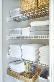 linen closet lrge storage units shelving spacing door organizer