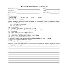 Employee Verbal Warning Template Verbal Warning Form Awesome