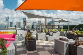 rooftop lighting. Check Out The View From Uptown Charlotte39s Newest Rooftop Bar Lighting G