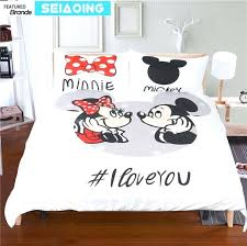 mickey and minnie comforter set wonderful adorable mouse bed mickey mouse bedding sets cartoon comforter covers