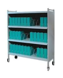 Medical Chart Carts With Vertical Racks Chart Carts Flynns