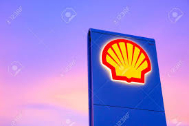 Gas Station Logo Chachoengsao Thailand Jan 28 2018 Shell Gas Station Logo