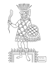 Small Picture arts culture Aztec Animals aztec art coloring pages colorpages7com