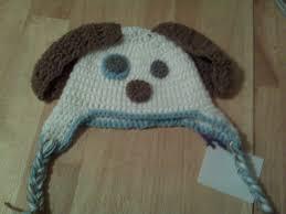 Crochet Dog Hat Pattern Magnificent Puppydoghatpatternwhite Knitting And Crochet Blog