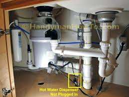 Kitchen Sink Water Filter Faucet Instant Hot Dispenser Installation