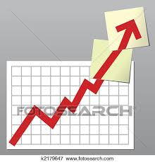 Stock Chart Up Business Chart Up Stock Illustration K2179647 Fotosearch