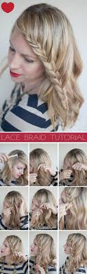 Lace Hair Style lace braid hairstyle tutorial hair romance 2122 by wearticles.com